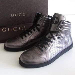 GUCCI GG nappa high-top sneakers 10.5 G / 11.5 US